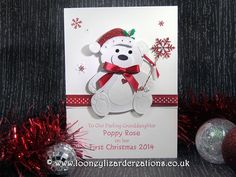 Image result for baby's 1st christmas card ideas