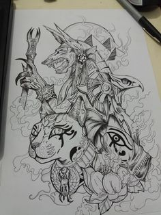 Dream Tattoos, Badass Tattoos, Future Tattoos, Tattoos For Guys, Kunst Tattoos, Body Art Tattoos, Sleeve Tattoos, Tattoo Design Drawings, Tattoo Sketches