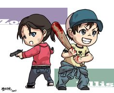zoey and ellis chibi - Google Search