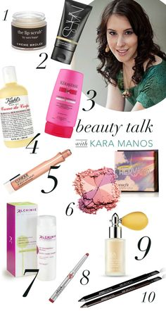 Beauty Talk: Kara Manos Of Politics Of Pretty | theglitterguide.com  |. Lovely beauty products for the winter!  Each one of these products are great buys!