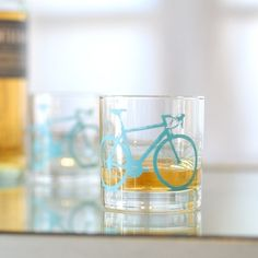 Bicycle glass