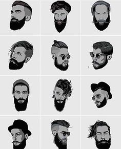 Nothing like a good beard, mustache combo. Whats your style of choice? Nothing like a good beard, mustache combo. Whats your style of choice? Mens Hairstyles With Beard, Hair And Beard Styles, Hairstyles Haircuts, Haircuts For Men, Trendy Hairstyles, Long Hair Styles, Barber Haircuts, Hipster Hairstyles Men, Beards And Mustaches