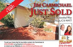 Great Spring Valley Home, Happy Clients!! Call us 619-670-6663 Carmichael Homes for ALL of your Real Estate needs.