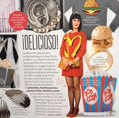 The Burger Ring at InStyle October 2014