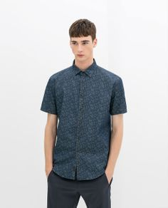 Image 1 of PRINTED SHIRT from Zara