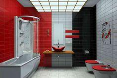 Modern Bathroom Colors (id: