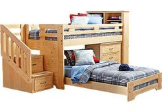 Planning ahead. Wonder how expensive it would be to do this to a standard bunk set on my own... Hmmm