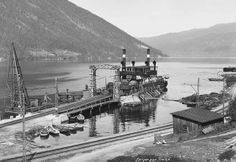 20 Feb 44: Norway: The railway ferry Hydro, carrying the remaining heavy water production from Telemark back to Germany, is sabotaged by Norwegian resistance with a time bomb and sinks 1,200 feet to the bottom of Lake Tinnsjo. #WWII #History