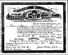 Heirlooms and Heritage: Fearless Females: Marriage Record