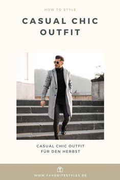 Erfahre welche Teile dazu passen! Casual Chic Outfit für Männer. Schickes Outfit für den Herbst mit Jeanshose, Rollkragenpullover, Lederstiefel und Wollmantel. Smarter Look für die Arbeit und in der Freizeit. Outfits für Männer mit passenden Teilen bei Favorite Styles. #favoritestyles #mode #fashion #outfit #männer #herren #style #stil #männermode #herrenmode #mensoutfit #mensfashion #ideen #inspiration #casual #chic #herbst #rollkragen #wollmantel