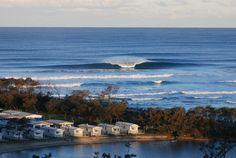 Surfs up at Nambucca Heads.