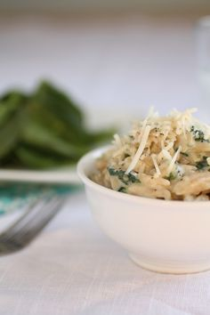 Parmesan & Spinach Orzo