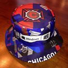 For Sale - Chicago Fire MLS Soccer Futbol Windows Promo Bucket Fishing Sun Hat Cap - HTF  - See More At  http://sprtz.us/ChicagoFire