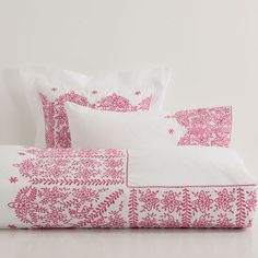 ???ItxProductPage.image.alt.nonumber??? Geometric Embroidered Bed Linen