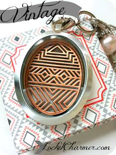 #vintage inspired #southhilldesigns #locket. This is an amazing company - create your personalized locket and check out our other products to complete your look. www.locketcharmer.com