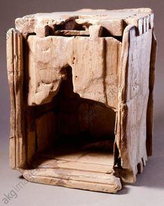 Wooden medicine cabinet. Gallo-Roman Civilization.