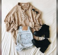 Cute Lazy Outfits, Teenage Outfits, Teen Fashion Outfits, Outfits For Teens, Trendy Outfits, Grunge Outfits, Hipster Outfits, Rock Style, Estilo Rock