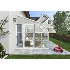 ORDER TODAY AND GET A FREE RION SHADE KIT WITH YOUR SUN ROOM Discover the simplest way to turn your existing porch, deck or patio into a great sunroom enclosure or greenhouse space. The Sun Room 2 fea
