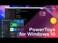 Hands-on with PowerToys for Windows 10 – Windows Enhanced! - YouTube