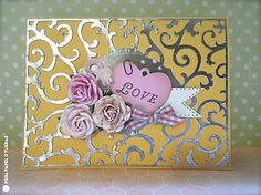 Shabby Chic Metallic Card