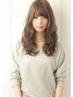 """Rue Kyoto"" Yurufuwa Wave Adult Cute Ash Beige Color: 