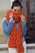 Myopia Scarf  PDF Pattern at KnittingDaily