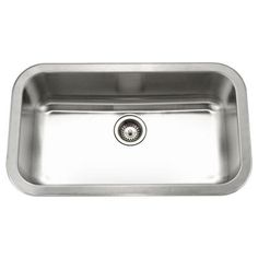 Medallion Gourmet Series Undermount 32-3/8 in. x 18-7/8 in. Large Single Bowl Kitchen Sink-MGS-3018 at The Home Depot