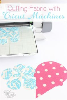 Great tutorial on cutting fabric with Cricut machines. Has specific settings, what works and what doesn't.