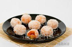 Sweet Potato Glutinous Rice Balls