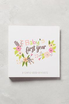 Baby's First Year Journal - anthropologie.com