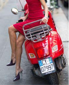 Envie de Fraises ♡ pumps with red dress
