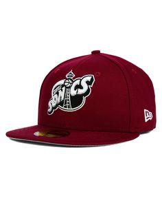 36f660945a0 New Era Seattle SuperSonics Back To Basic 59FIFTY Cap Sports Fan Shop