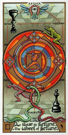 Wheel of Fortune - Masonic Tarot