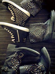 Love boots & a bit of bling!