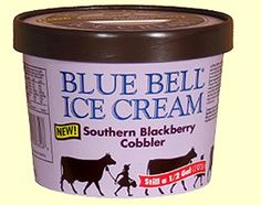 Blue Bell Ice Cream. The Cookies & Cream is AMAZING!...and the Banana Pudding... And... Everything they make.