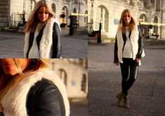 [OUTFIT] LEATHER AND FURRRRR (by THEFASHIONGUITAR -) http://lookbook.nu/look/2815973-OUTFIT-LEATHER-AND-FURRRRR