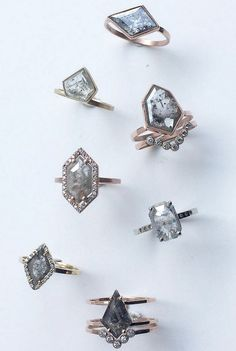 Stunning Custom Diamond Rings | LexLuxe on Etsy