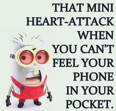 No phone in pocket