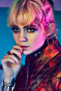 Grimes for Nylon Magazine Singapore, January 2016. Photographed by An Le.