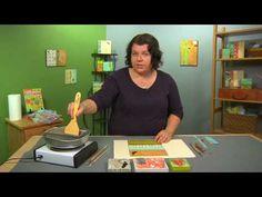 Encaustic - Cloth Paper Scissors Quick Video Tutorial