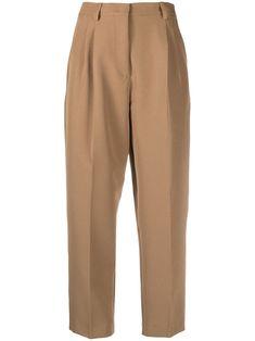 Women's Flares, Welt Pocket, Polyester Spandex, Trousers, Pajama Pants, Sweatpants, Camel, High Waist, Legs