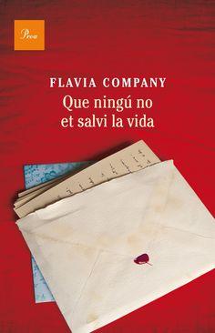 Portada de 'Que ningú no et salvi la vida'. Disseny i imatge de la coberta: Carlos Cubeiro.