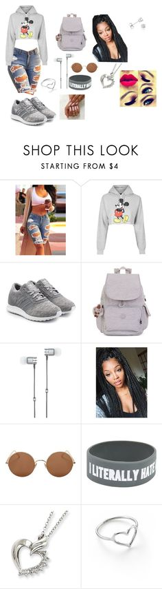 """""""Trap queen"""" by tiana545 on Polyvore featuring Topshop, adidas Originals, Kipling, Master & Dynamic, Sunday Somewhere, Jordan Askill and Amanda Rose Collection"""