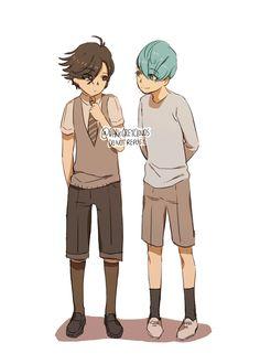 Mystic Messenger- Jumin Han and V #Otome #Game #Anime. Susanghan Messenger