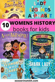 Must read women's history books for kids. These women's history books for children toddlers and families are must haves for your collection. Kindergarten Books, Preschool Books, Preschool Curriculum, History Books For Kids, Books For Moms, Toddler Books, Childrens Books, Books For Children, Women's History