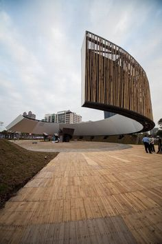 Ring Celestial Bliss City of Hsinchu, Taiwan. ::  J.J Pan & Partners Architects