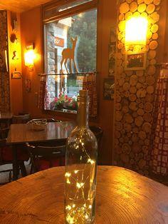 Bar-cafetería La Neu Momentos relax en la montañas Decoración rústica