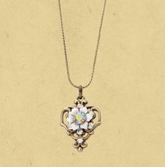 Michal Negrin ~ Heart Necklace 15165