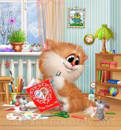 Календарь Коста 2 Февраль (13х14) в слоях