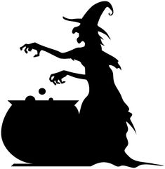 Witch cauldron silhouette clipart from Berserk on. 15 Witch cauldron silhouette clipart royalty free stock professional designs for business and education. Clip art is a great way to help illustrate your diagrams and flowcharts. Moldes Halloween, Manualidades Halloween, Fun Halloween Crafts, Halloween Signs, Halloween House, Fall Halloween, Halloween Clipart Free, Halloween Stencils, Halloween Painting